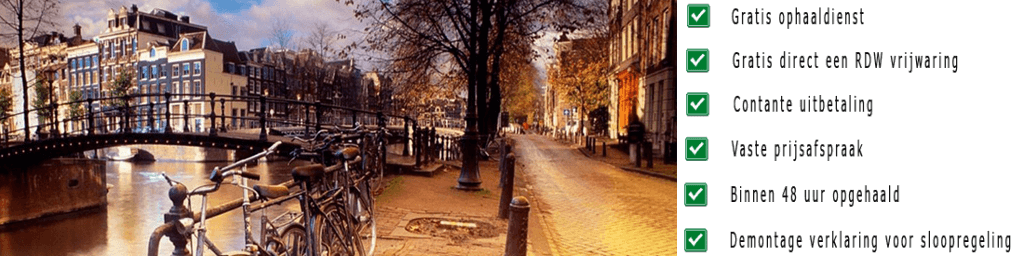 Auto laten ophalen Amsterdam