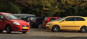 Sloopauto Haarlem parkeer