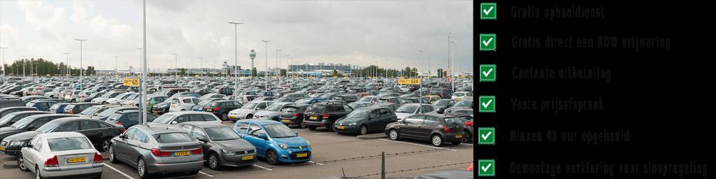 Sloopauto Schiphol